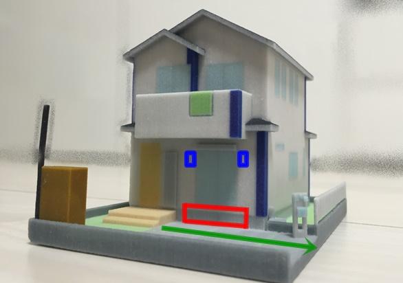 建築模型 3Dプリンター