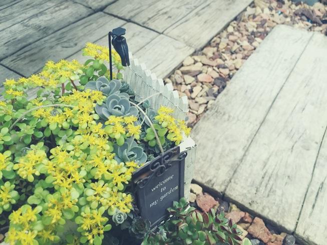ガーデンピック 蛇口 植木鉢 プランター