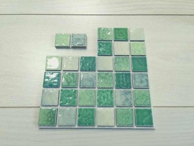 洗面化粧台 Decore(デコレ) DIYタイル モザイクタイル 切断カット DIY