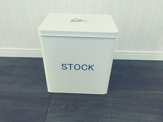 salut! サリュ STOCK BOX ブリキ ストックボックス