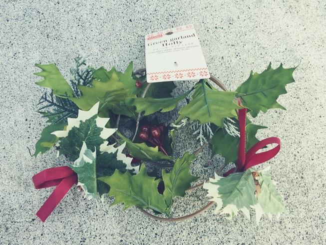 クリスマス デコレーション イエデコ ヘヤデコ ニワデコ Daiso ダイソー ガーランド