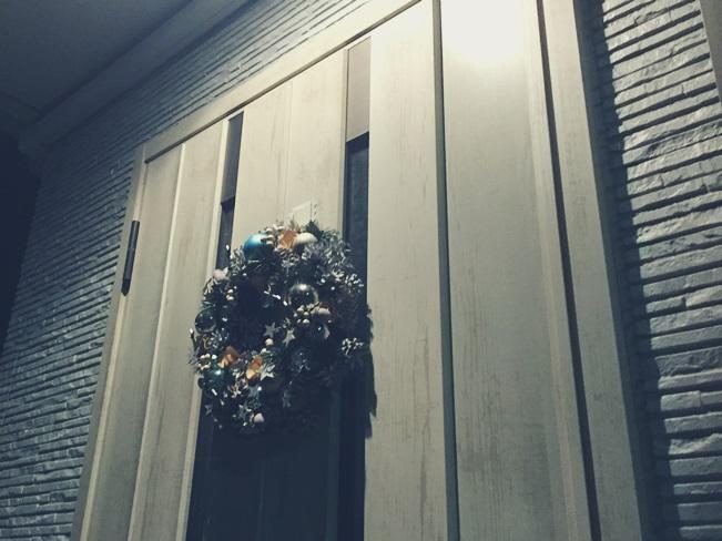 クリスマス デコレーション イエデコ ヘヤデコ ニワデコ クリスマスリース 玄関