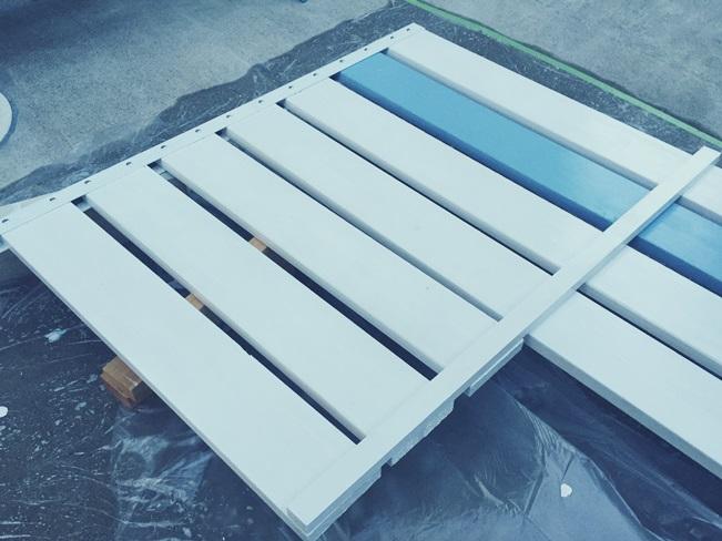 DIY 飾り ウッドフェンス 板壁 板塀 フェンス材 補助 支え 組み立て