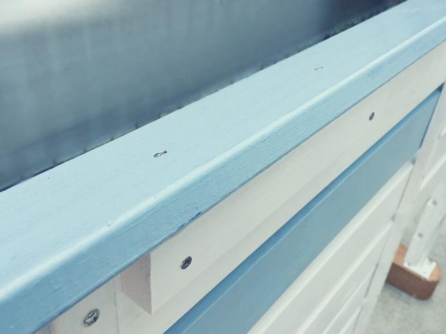 DIY 飾り ウッドフェンス 板壁 板塀 笠木 固定 組み立て