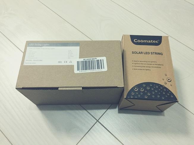 家 庭 自宅 クリスマス イルミネーション LED ソーラー ライト coomatec