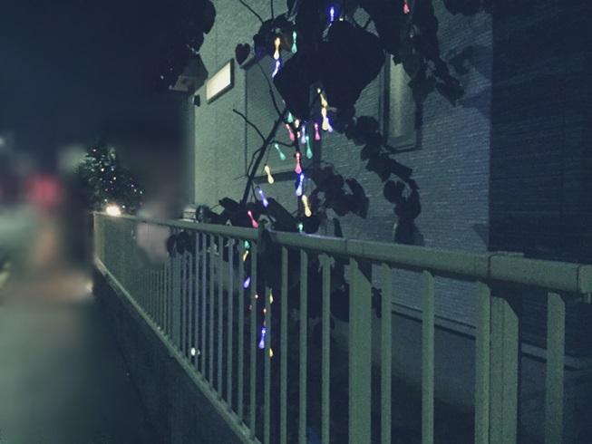 家 庭 自宅 クリスマス イルミネーション LED ソーラー ライト coomatec ティアドロップ 型 庭木 点灯