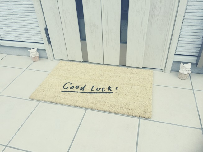 玄関 ドア マット 屋外 コイヤー ココ SMAP Good Luck グッドラック おしゃれ