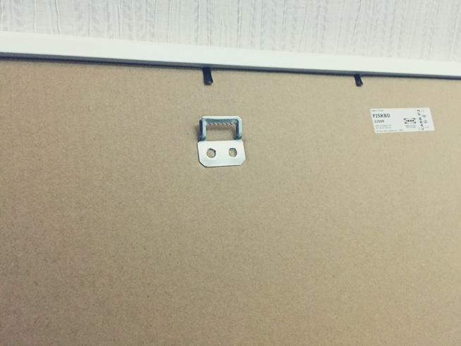 IKEA イケア FISKBO フィスクボー ピクチャー フォト 壁掛け フレーム 取り付けフック
