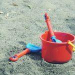 玄関に置く傘立てと子供の外遊び用のおもちゃ箱をDIYで作ってみました。~おもちゃ箱編~