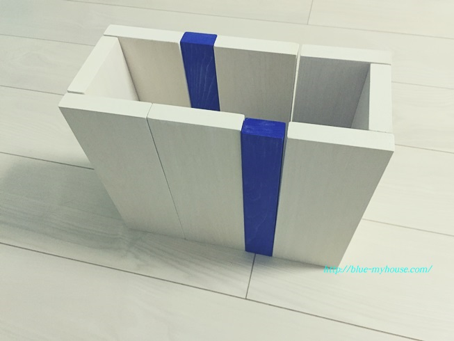DIY 傘 立て アンブレラ スタンド おもちゃ 箱 収納 外遊び 玄関 塗装 仮組み