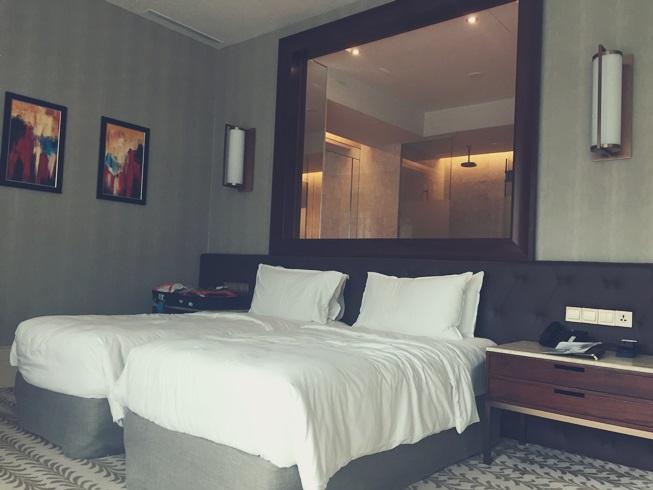 シンガポール リゾート ワールド セントーサ エクアリアス ホテル 客室 室内