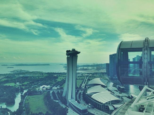 シンガポール フライヤー 観覧車 アジア 最大 マリーナ ベイ