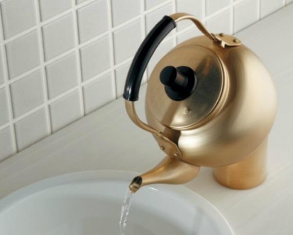 カクダイDa Reyaアイキャッチ水栓 魔法の水 面白蛇口