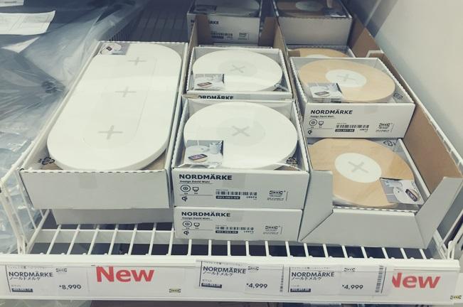 IKEA イケア iPhone スマートフォン スマホ ワイヤレス充電器 パッド NORDMÄRKE nordmarke 新商品