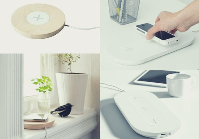 IKEA イケア iPhone スマートフォン スマホ ワイヤレス充電器 パッド NORDMÄRKE nordmarke