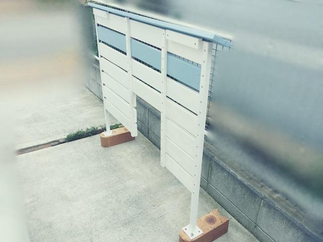 DIY 飾り ウッドフェンス 板壁 板塀 笠木 組み立て
