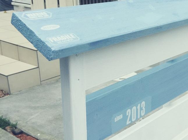 DIY 飾り ウッドフェンス 板壁 板塀 転写シール 貼り 2