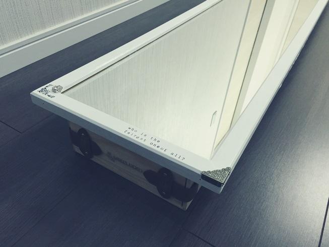 スタンドミラー ウォールミラー DIY リメイク インテリア 魔法の鏡 デコレーション アイテム