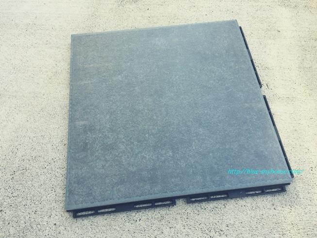 DIY IKEA イケア RUNNEN PLATTA フロアデッキ ウッド デッキ パネル タイル フロア ベランダ ジョイント 屋外用 劣化 経年 変化 補修 修理 接着 表