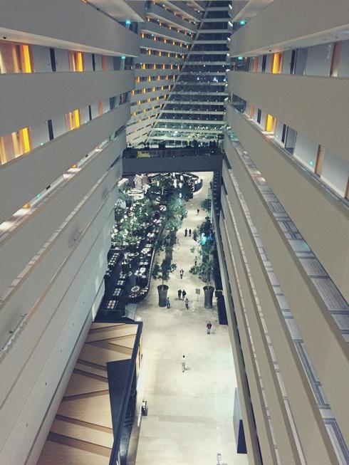 シンガポール マリーナベイサンズ ホテル 内部